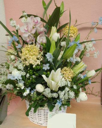 花ギフト|フラワーギフト|誕生日 花|カノシェ話題|スタンド花|ウエディングブーケ|花束|花屋|rie-okuyami