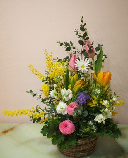 花ギフト|フラワーギフト|誕生日 花|カノシェ話題|スタンド花|ウエディングブーケ|花束|花屋|53481