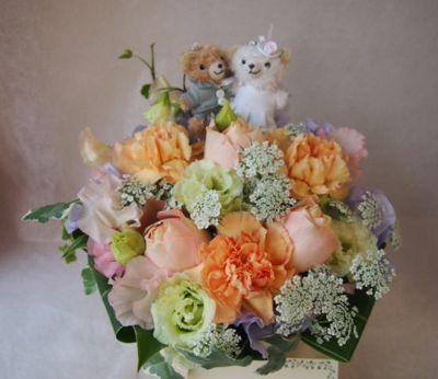 花ギフト|フラワーギフト|誕生日 花|カノシェ話題|スタンド花|ウエディングブーケ|花束|花屋|39025