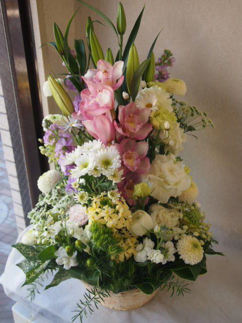 花ギフト|フラワーギフト|誕生日 花|カノシェ話題|スタンド花|ウエディングブーケ|花束|花屋|53075