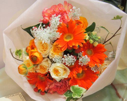花ギフト|フラワーギフト|誕生日 花|カノシェ話題|スタンド花|ウエディングブーケ|花束|花屋|54754