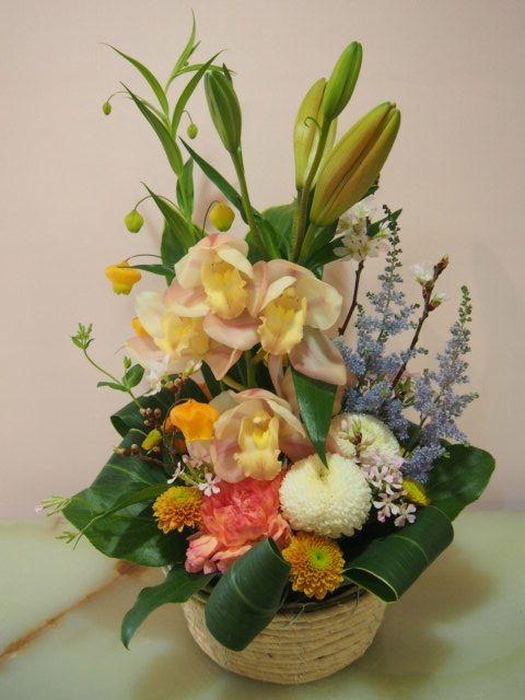 花ギフト|フラワーギフト|誕生日 花|カノシェ話題|スタンド花|ウエディングブーケ|花束|花屋|40515