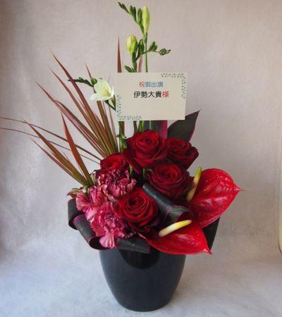 花ギフト|フラワーギフト|誕生日 花|カノシェ話題|スタンド花|ウエディングブーケ|花束|花屋|38829