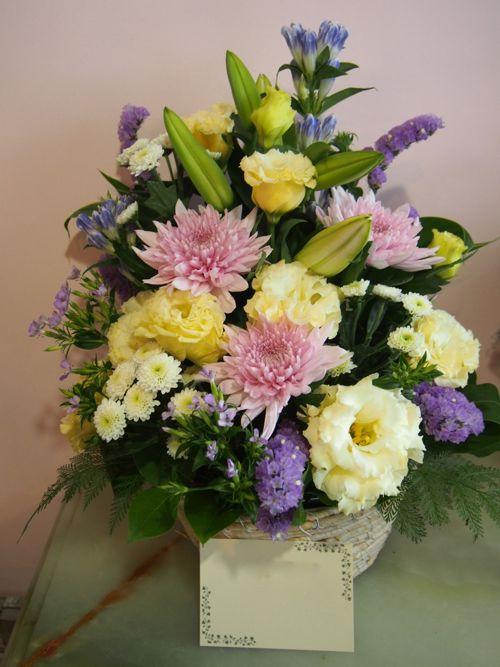 花ギフト|フラワーギフト|誕生日 花|カノシェ話題|スタンド花|ウエディングブーケ|花束|花屋|57634