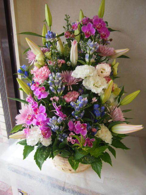 花ギフト|フラワーギフト|誕生日 花|カノシェ話題|スタンド花|ウエディングブーケ|花束|花屋|49900