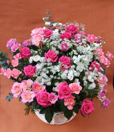 花ギフト|フラワーギフト|誕生日 花|カノシェ話題|スタンド花|ウエディングブーケ|花束|花屋|バラピンク