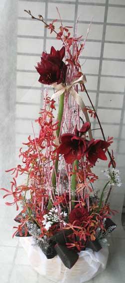 花ギフト|フラワーギフト|誕生日 花|カノシェ話題|スタンド花|ウエディングブーケ|花束|花屋|アマリリス2