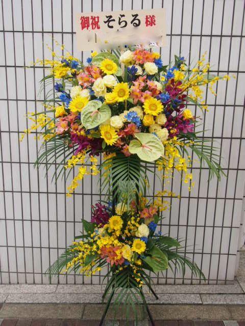 花ギフト|フラワーギフト|誕生日 花|カノシェ話題|スタンド花|ウエディングブーケ|花束|花屋|48927