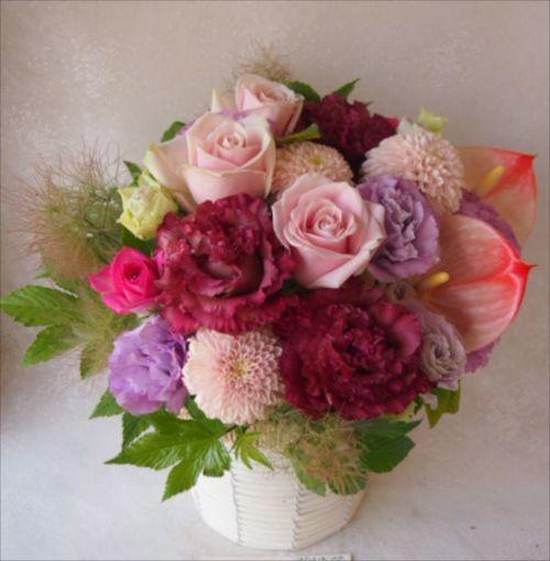 花ギフト|フラワーギフト|誕生日 花|カノシェ話題|スタンド花|ウエディングブーケ|花束|花屋|48956