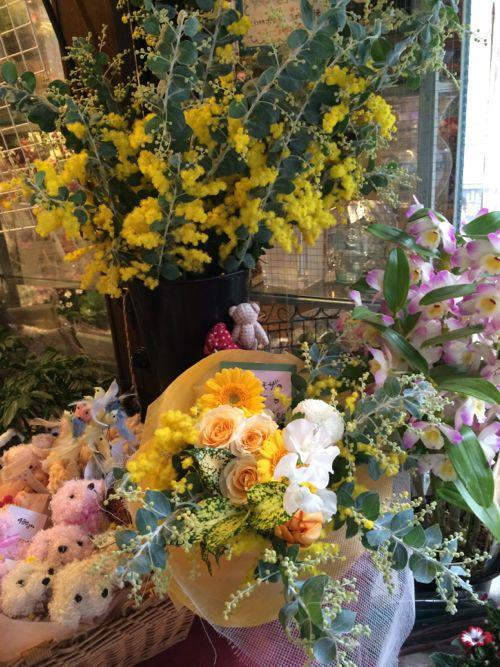 花ギフト|フラワーギフト|誕生日 花|カノシェ話題|スタンド花|ウエディングブーケ|花束|花屋|IMG_8925