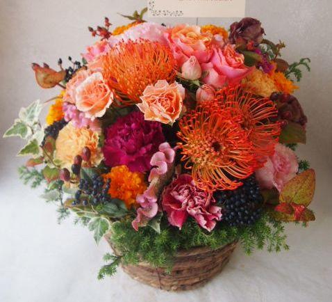 花ギフト|フラワーギフト|誕生日 花|カノシェ話題|スタンド花|ウエディングブーケ|花束|花屋|51718