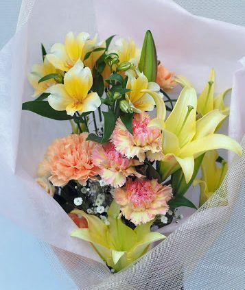 花ギフト|フラワーギフト|誕生日 花|カノシェ話題|スタンド花|ウエディングブーケ|花束|花屋|2016_haha_b2