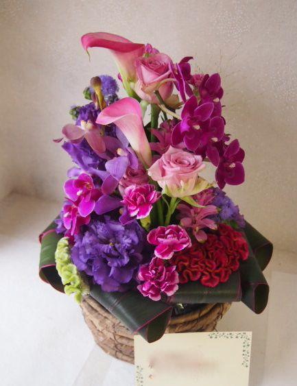 花ギフト フラワーギフト 誕生日 花 カノシェ話題 スタンド花 ウエディングブーケ 花束 花屋 49804