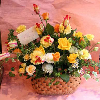 花ギフト|フラワーギフト|誕生日 花|カノシェ話題|スタンド花|ウエディングブーケ|花束|花屋|basket