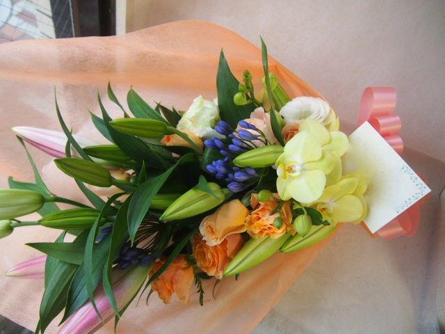 花ギフト|フラワーギフト|誕生日 花|カノシェ話題|スタンド花|ウエディングブーケ|花束|花屋|41561