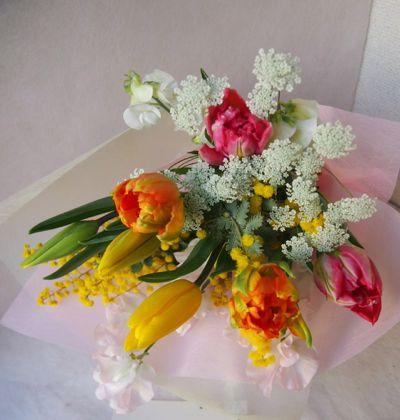 花ギフト|フラワーギフト|誕生日 花|カノシェ話題|スタンド花|ウエディングブーケ|花束|花屋|38462