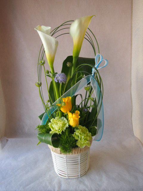 花ギフト|フラワーギフト|誕生日 花|カノシェ話題|スタンド花|ウエディングブーケ|花束|花屋|46138
