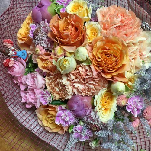 花ギフト|フラワーギフト|誕生日 花|カノシェ話題|スタンド花|ウエディングブーケ|花束|花屋|IMG_1143