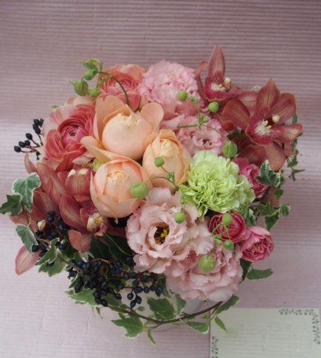 花ギフト|フラワーギフト|誕生日 花|カノシェ話題|スタンド花|ウエディングブーケ|花束|花屋|51855