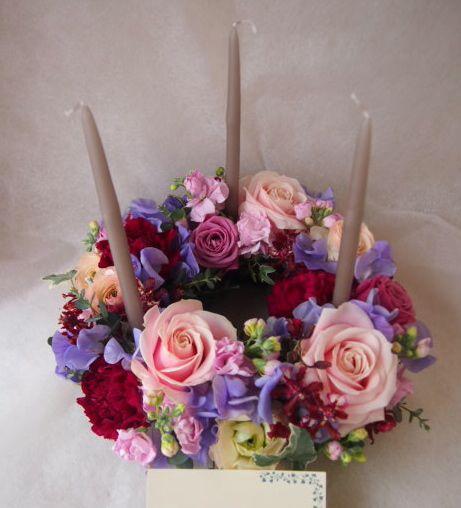 花ギフト|フラワーギフト|誕生日 花|カノシェ話題|スタンド花|ウエディングブーケ|花束|花屋|45979