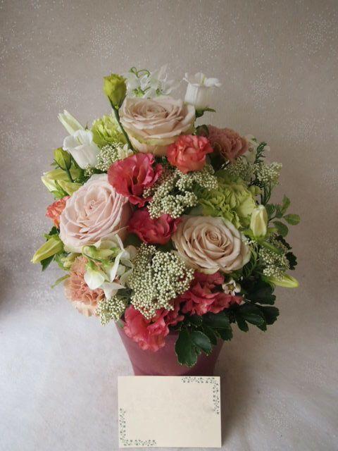 花ギフト|フラワーギフト|誕生日 花|カノシェ話題|スタンド花|ウエディングブーケ|花束|花屋|55181