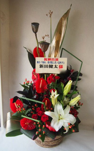 花ギフト|フラワーギフト|誕生日 花|カノシェ話題|スタンド花|ウエディングブーケ|花束|花屋|49763