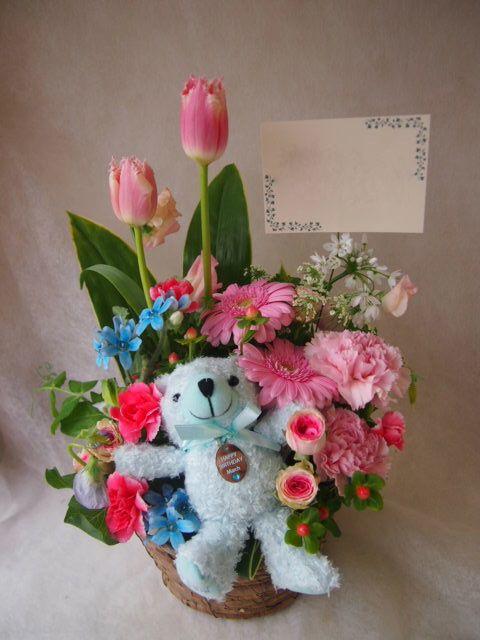 花ギフト|フラワーギフト|誕生日 花|カノシェ話題|スタンド花|ウエディングブーケ|花束|花屋|45963