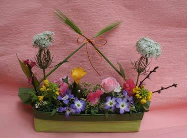花ギフト|フラワーギフト|誕生日 花|カノシェ話題|スタンド花|ウエディングブーケ|花束|花屋|226-hinamatsuri