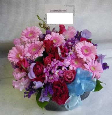 花ギフト フラワーギフト 誕生日 花 カノシェ話題 スタンド花 ウエディングブーケ 花束 花屋 rie-vivi