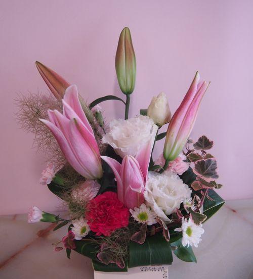 花ギフト|フラワーギフト|誕生日 花|カノシェ話題|スタンド花|ウエディングブーケ|花束|花屋|56742