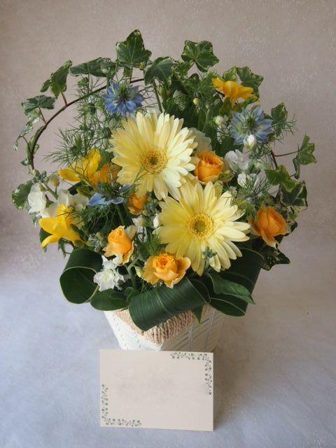 花ギフト|フラワーギフト|誕生日 花|カノシェ話題|スタンド花|ウエディングブーケ|花束|花屋|53007