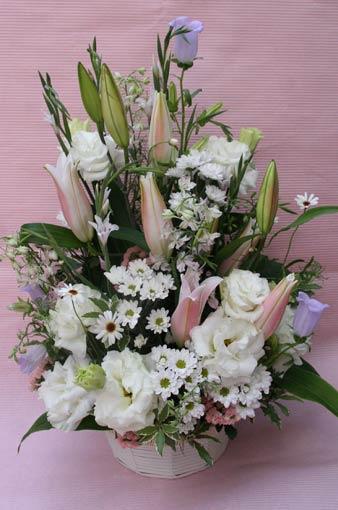 花ギフト フラワーギフト 誕生日 花 カノシェ話題 スタンド花 ウエディングブーケ 花束 花屋 miyoshisama