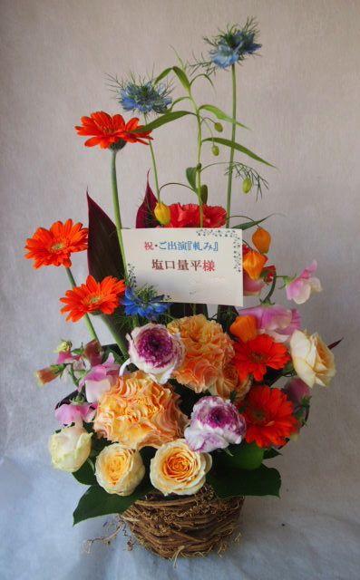 花ギフト|フラワーギフト|誕生日 花|カノシェ話題|スタンド花|ウエディングブーケ|花束|花屋|87f05762