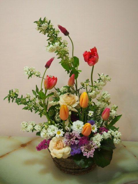 花ギフト|フラワーギフト|誕生日 花|カノシェ話題|スタンド花|ウエディングブーケ|花束|花屋|53745