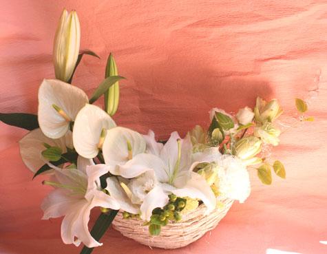 花ギフト|フラワーギフト|誕生日 花|カノシェ話題|スタンド花|ウエディングブーケ|花束|花屋|パール2
