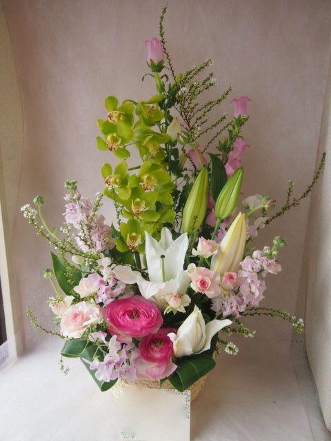 花ギフト|フラワーギフト|誕生日 花|カノシェ話題|スタンド花|ウエディングブーケ|花束|花屋|47039