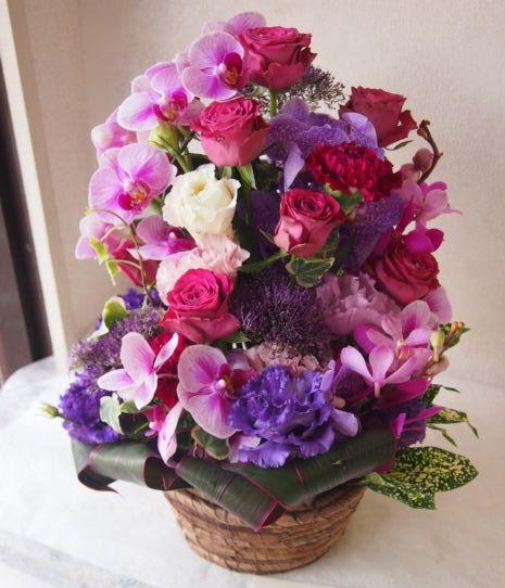 花ギフト|フラワーギフト|誕生日 花|カノシェ話題|スタンド花|ウエディングブーケ|花束|花屋|49210