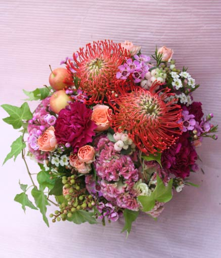 花ギフト|フラワーギフト|誕生日 花|カノシェ話題|スタンド花|ウエディングブーケ|花束|花屋|2015_aut_a_2