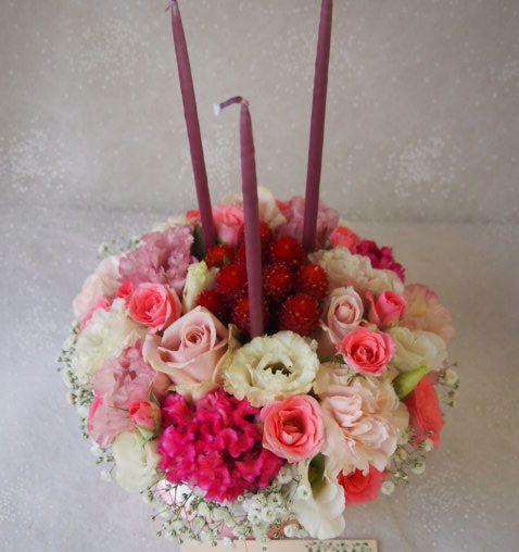 花ギフト|フラワーギフト|誕生日 花|カノシェ話題|スタンド花|ウエディングブーケ|花束|花屋|57252