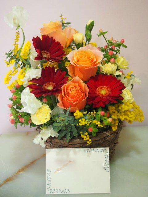 花ギフト|フラワーギフト|誕生日 花|カノシェ話題|スタンド花|ウエディングブーケ|花束|花屋|54239