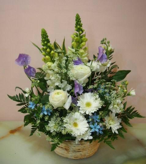 花ギフト|フラワーギフト|誕生日 花|カノシェ話題|スタンド花|ウエディングブーケ|花束|花屋|53614