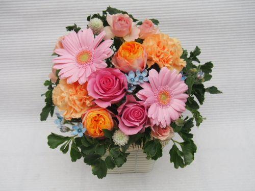 花ギフト|フラワーギフト|誕生日 花|カノシェ話題|スタンド花|ウエディングブーケ|花束|花屋|52108