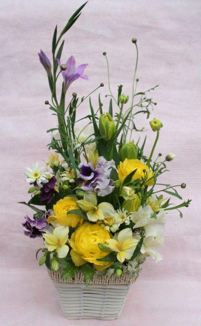 花ギフト|フラワーギフト|誕生日 花|カノシェ話題|スタンド花|ウエディングブーケ|花束|花屋|IMG_6977