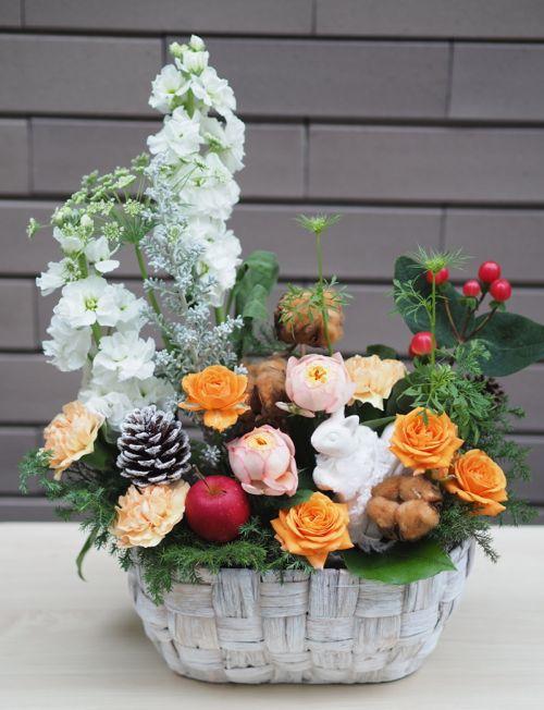 花ギフト|フラワーギフト|誕生日 花|カノシェ話題|スタンド花|ウエディングブーケ|花束|花屋|PB090509