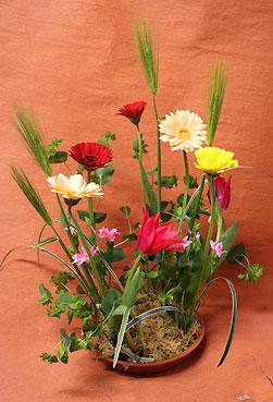 花ギフト|フラワーギフト|誕生日 花|カノシェ話題|スタンド花|ウエディングブーケ|花束|花屋|たなかさん 麦