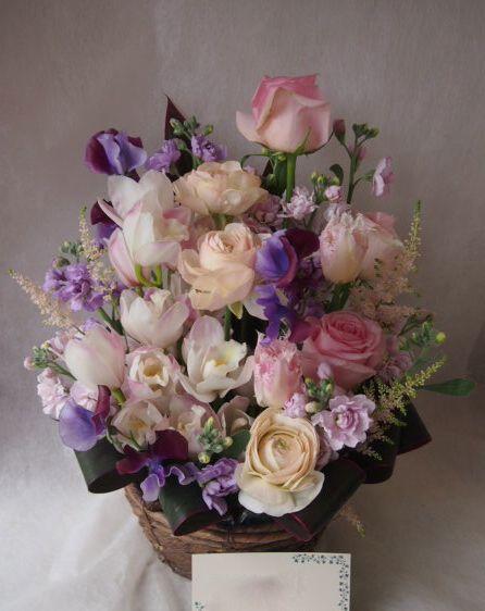花ギフト|フラワーギフト|誕生日 花|カノシェ話題|スタンド花|ウエディングブーケ|花束|花屋|46285(1)