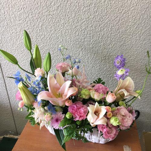 花ギフト|フラワーギフト|誕生日 花|カノシェ話題|スタンド花|ウエディングブーケ|花束|花屋|IMG_1048
