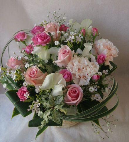 花ギフト|フラワーギフト|誕生日 花|カノシェ話題|スタンド花|ウエディングブーケ|花束|花屋|46279