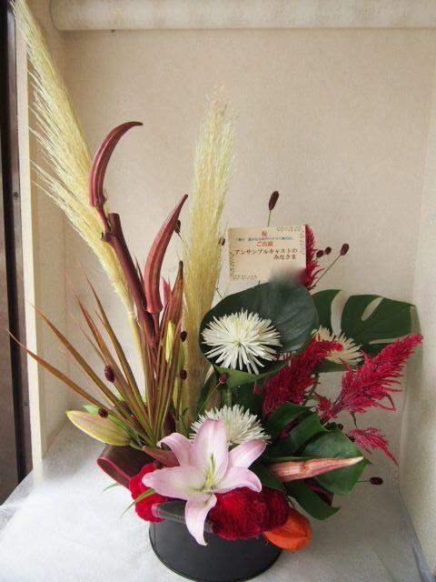 花ギフト|フラワーギフト|誕生日 花|カノシェ話題|スタンド花|ウエディングブーケ|花束|花屋|P8111337