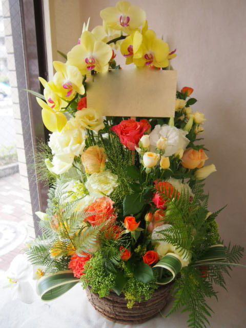 花ギフト|フラワーギフト|誕生日 花|カノシェ話題|スタンド花|ウエディングブーケ|花束|花屋|41411